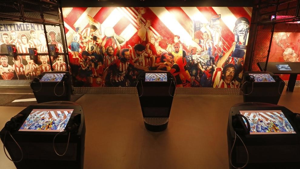 Atletico's new museum.