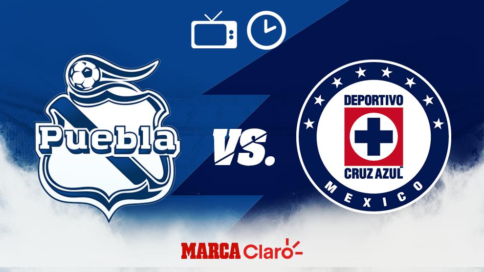 ¿A qué hora juega el Cruz Azul contra Puebla?