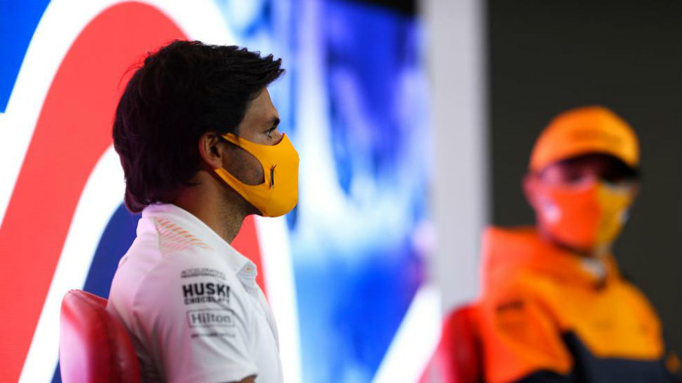 """Carlos Sainz: """"Tenemos novedades en el ala y suelo, no sé lo que ganaremos"""""""