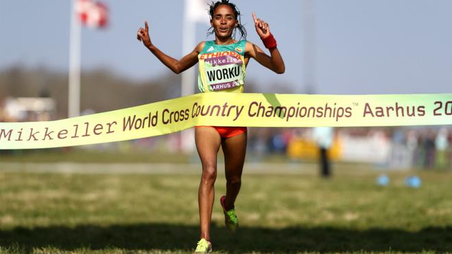 Etiopía se impone en el relevo mixto del Mundial de Aarhus...