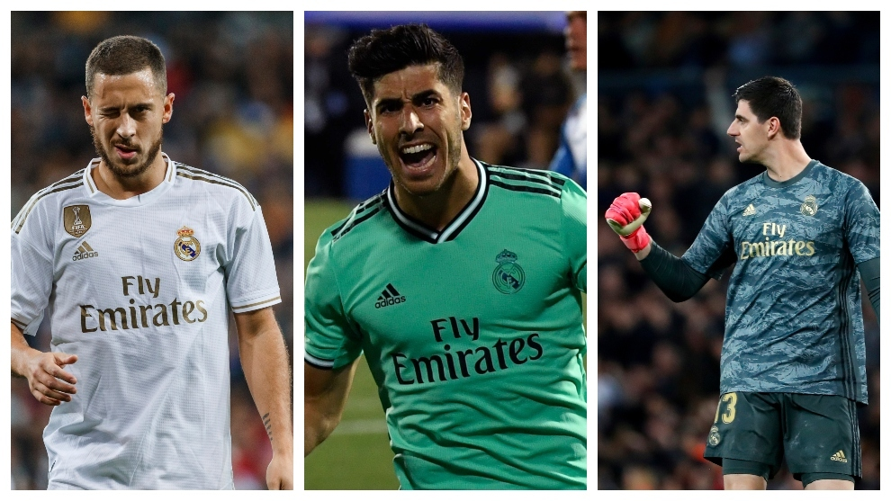Hazard, Asensio y Courtois, tres 'fichajes' de Champions