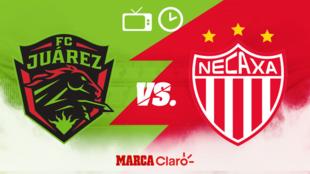 FC Juárez vs Necaxa: Horario y dónde ver en vivo.