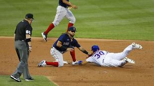 Los Red Sox acabaron los Mets.