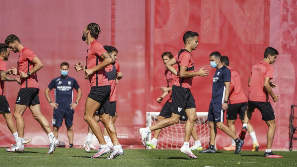 Sevilla's preparation for Roma clash disrupted