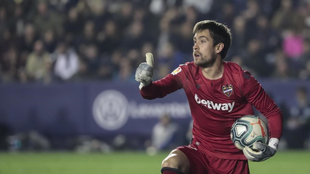Atletico Madrid interested in Aitor Fernandez