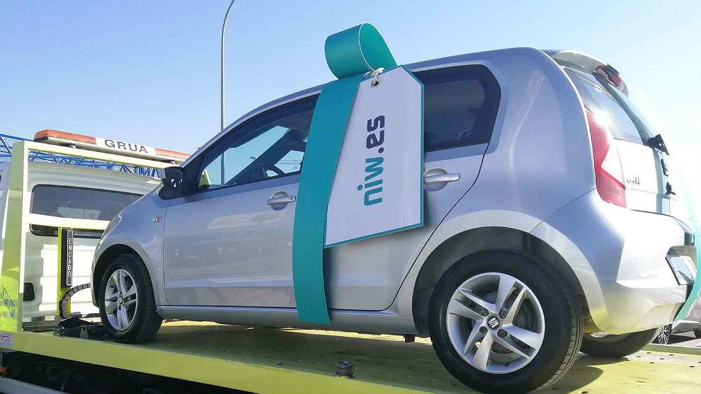 La plataforma niw.es entrega el primer coche a domicilio