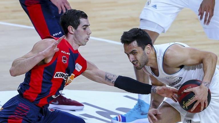 ACB Liga Endesa: El Baskonia no se inquieta por un posible inters del Madrid en Vildoza
