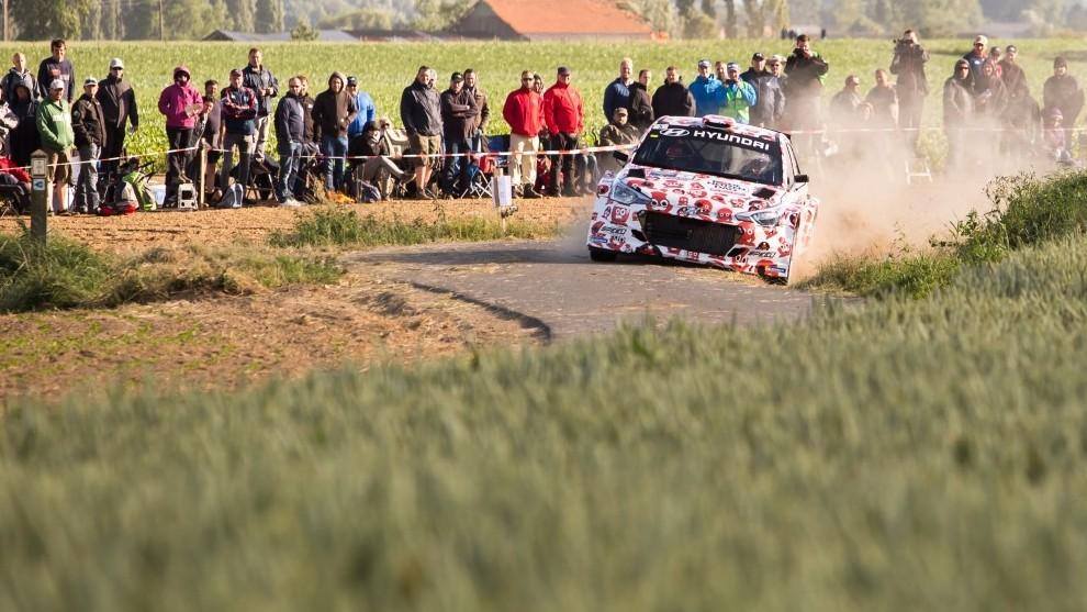 Los campos de Flandes recibirán por primera vez a los WRC del Mundial...