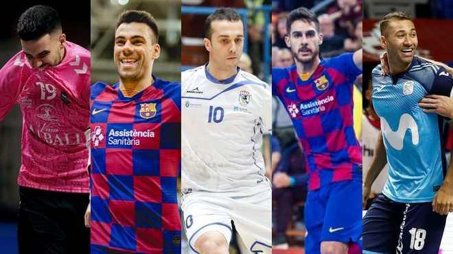 Edu Sousa, Sergio Lozano, Adri, Adolfo y Pito, galardonados por la...