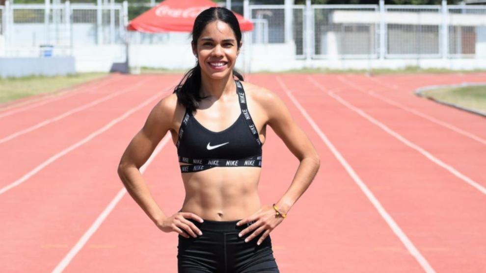 Mariela Real es atleta de la Fundación Telmex Telcel