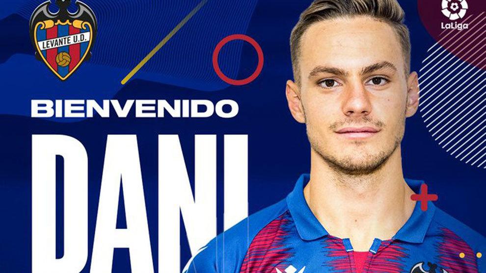 Dani Gómez, nuevo jugador del Levante tras el acuerdo de traspaso con el Real Madrid