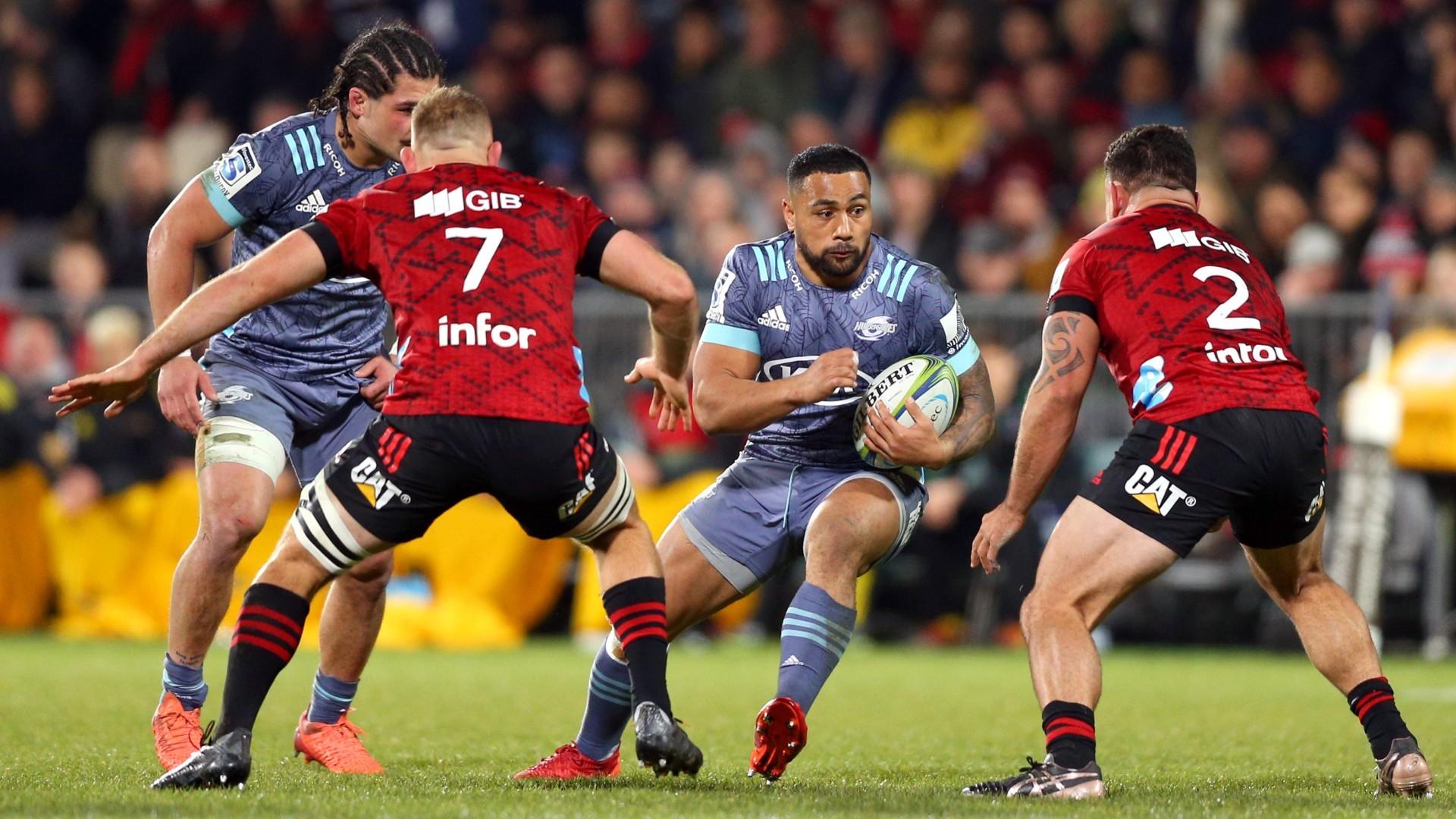 Crusaders y Brumbies lideran sus respectivos torneos de Súper Rugby