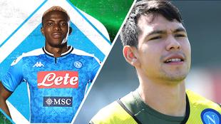 Llega Osimhen al Napoli para desbancar al Chucky Lozano como jugador...