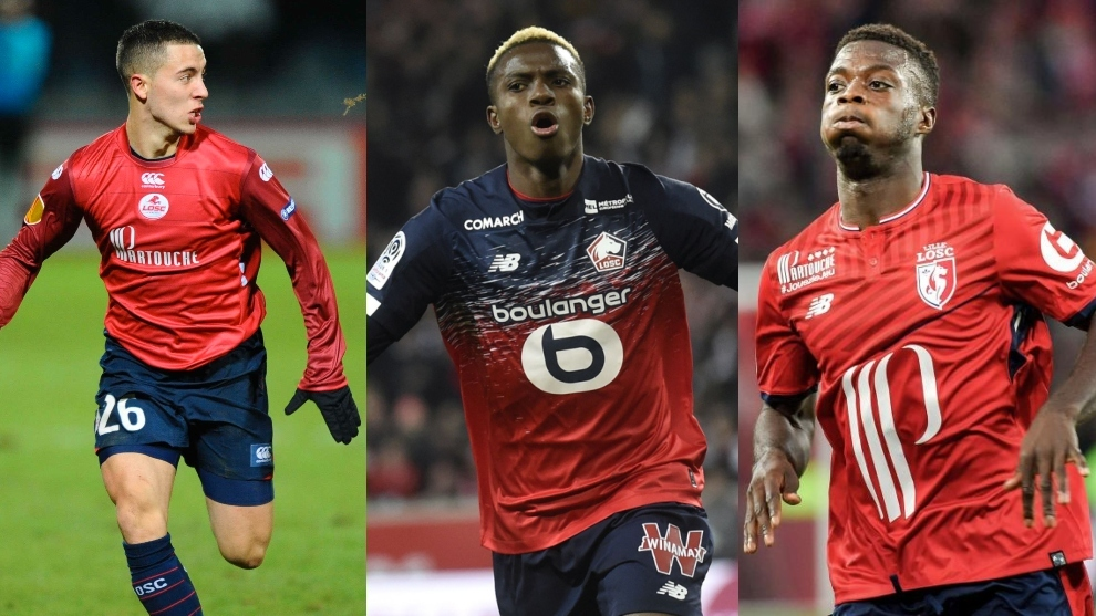 From Hazard to Osimhen: Lille are Europe's production line of talent