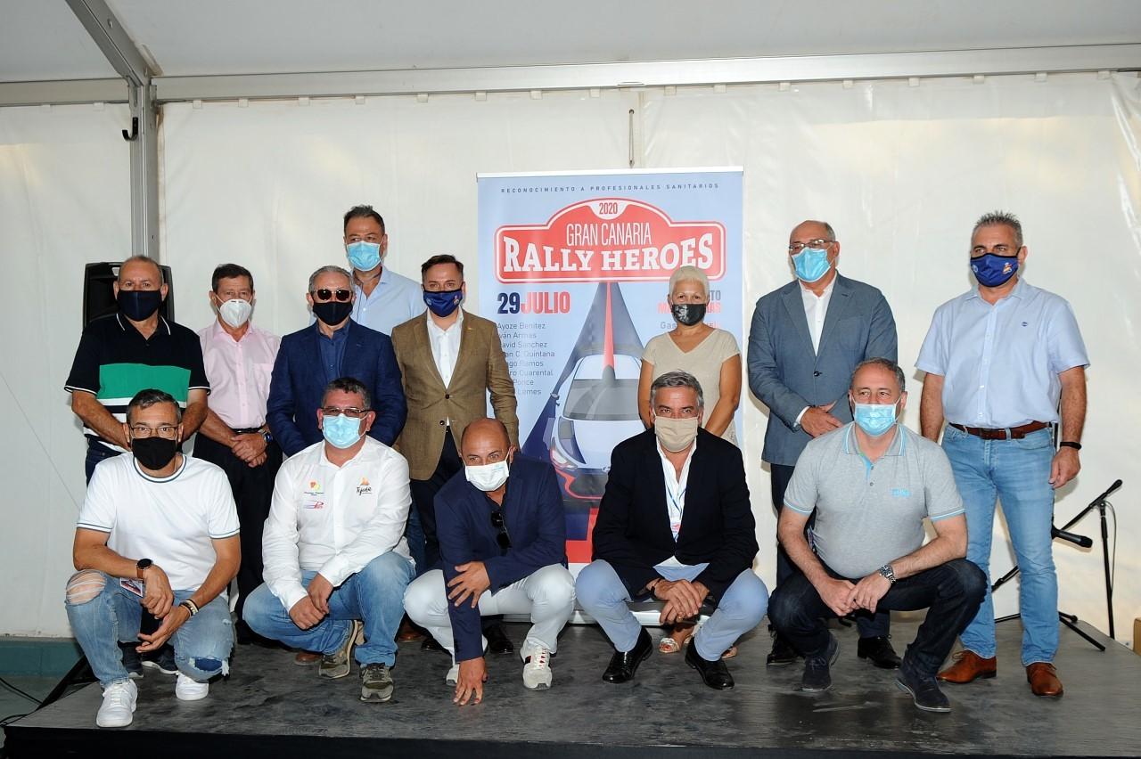 Un rally en honor a los héroes del coronavirus