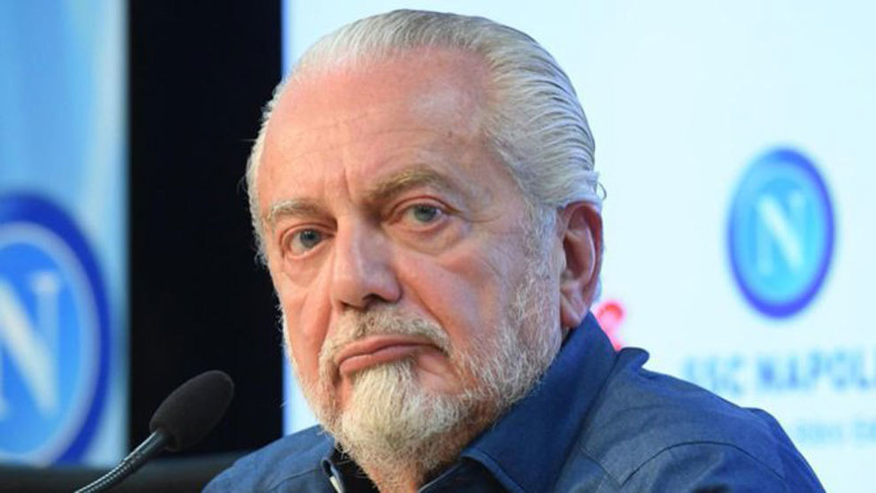 De Laurentiis: All hell will break loose if something happens to Napoli in Barcelona