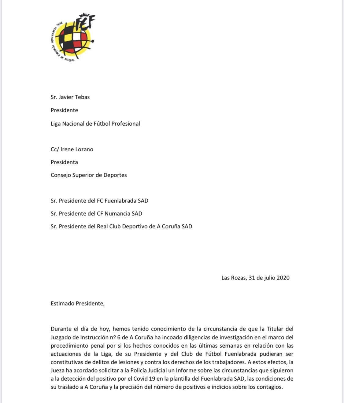 La RFEF pone en consideración ante LaLiga y el CSD una temporada de 24 equipos en Segunda 15962242034708