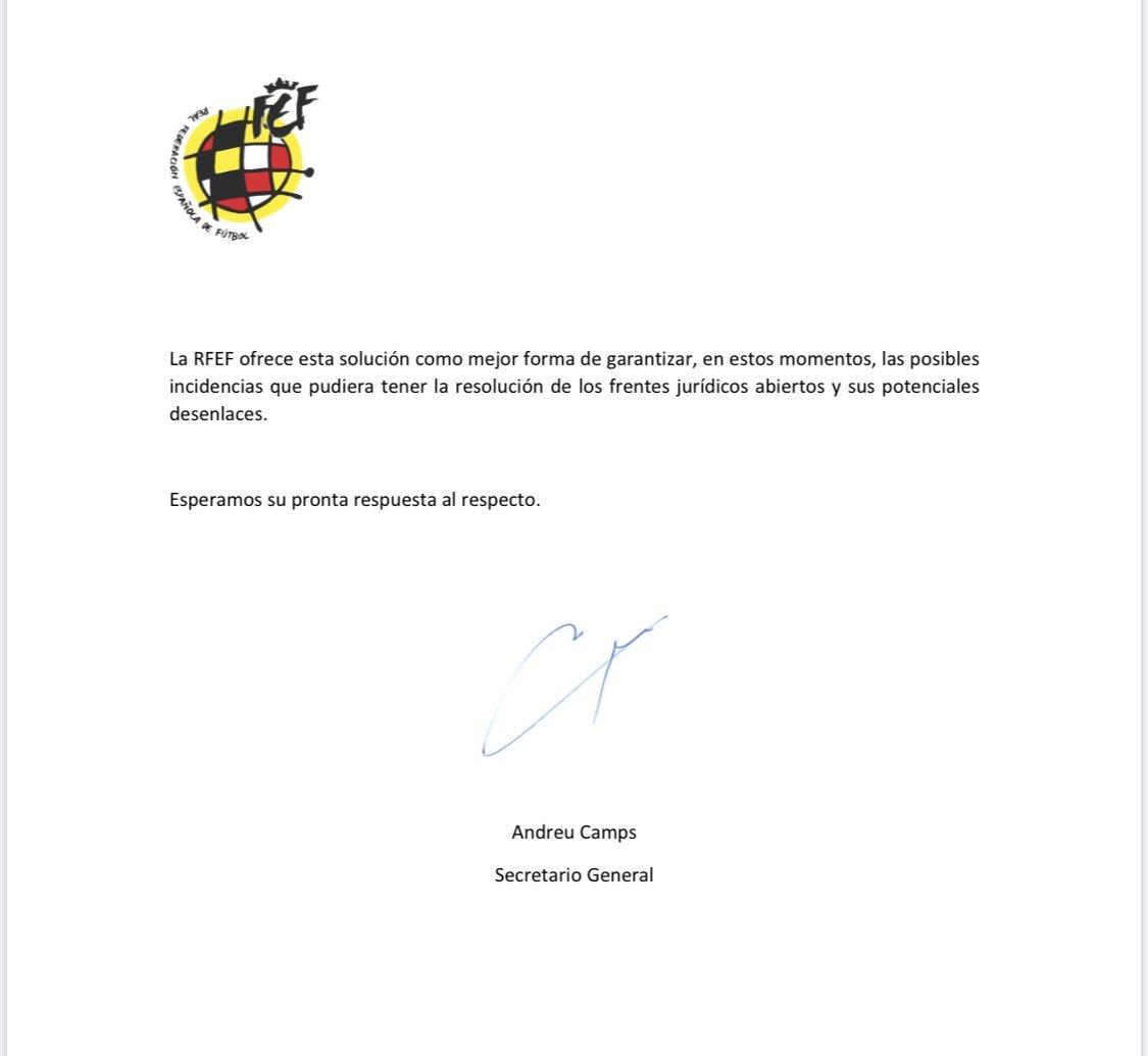 La RFEF pone en consideración ante LaLiga y el CSD una temporada de 24 equipos en Segunda 15962242428793