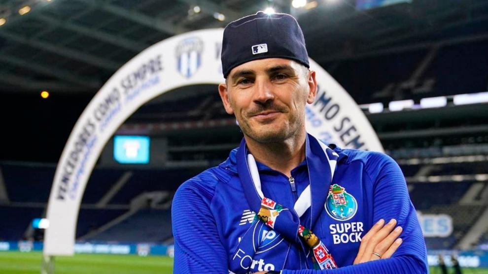 del Instagram de Iker lt;HIT gt;Casillas lt;/HIT gt; y se corresponde con la celebración del título de Liga del Oporto