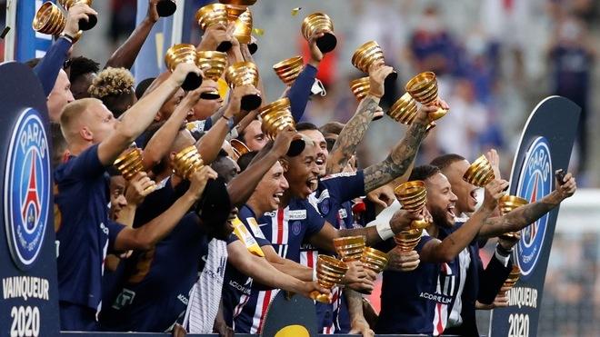 PSG, campeón de la Copa de la Liga en Francia.