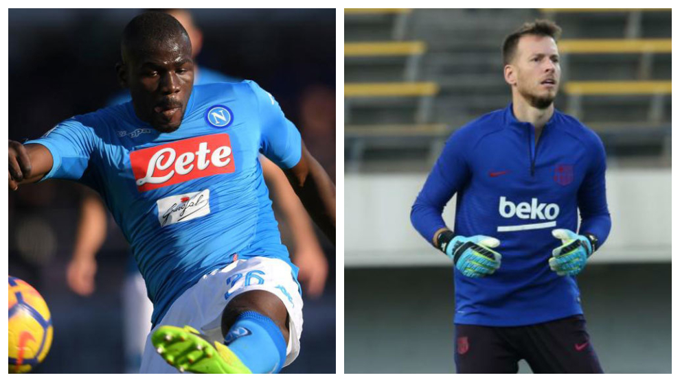 Saturday's transfer round-up: Koulibaly price tag set, Barcelona want to sell Neto...