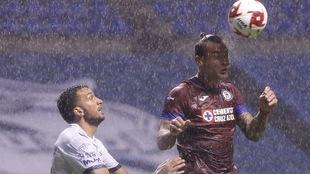El Estadio Cuauhtémoc sufre los estragos de la lluvia