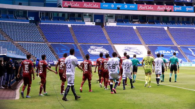 Puebla y Cruz Azul empataron en el Estadio Cuauhtémoc en la jornada 2...