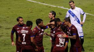 Reparto de puntos en el Estadio Cuauhtémoc en la fecha 2 del Apertura...