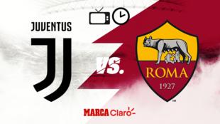 Juventus vs Roma: Horario y dónde ver.