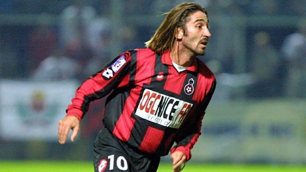Aurlanier, durante un partido con el Niza. BEP/NICE MATIN