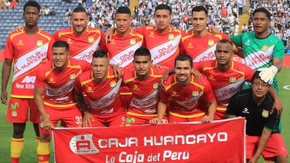 Imagen de la plantilla de Sport Huancayo . LÍBERO