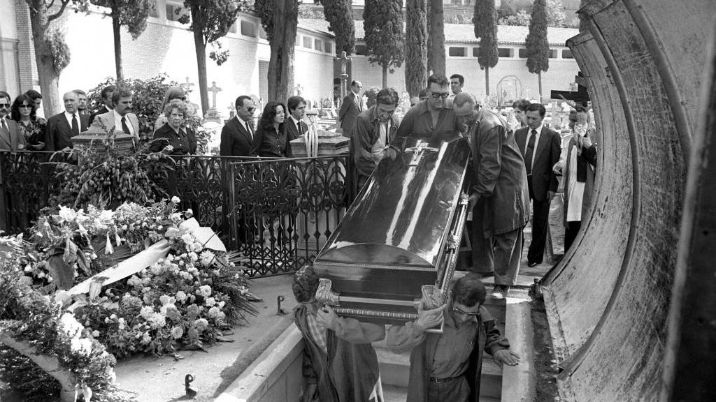 Entierro de los marqueses de Urquijo. Se cumplen 40 años de su...