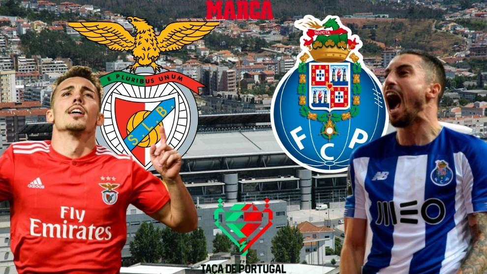 Oporto -. Benfica: Horario y dónde ver hoy por TV y online la final de Copa de Portugal