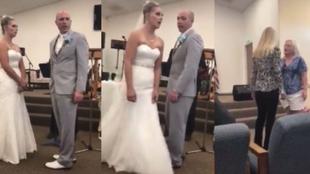 Vergüenza ajena en una boda: cuando la suegra se lleva mal con la novia pasan estas cosas...