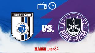 Horario y dónde ver el Querétaro vs Mazatlán FC de la Jornada 2 del...