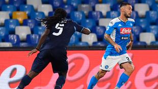 Napoli venció a la Lazio en el cierre de la Serie A.