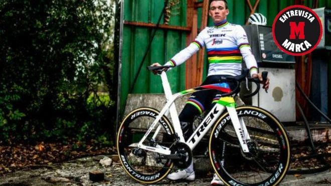 """Mads Pedersen, un arcoíris sin estela: """"Me recordarán por ser el campeón, no por cuántos días vestí este maillot"""""""