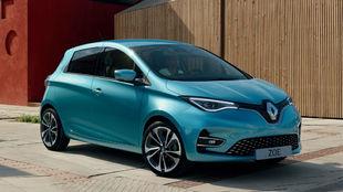 El Renault Zoe, el popular utilitario eléctrico de la marca francesa.