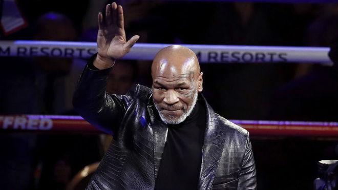 Mike Tyson, en Las Vegas.