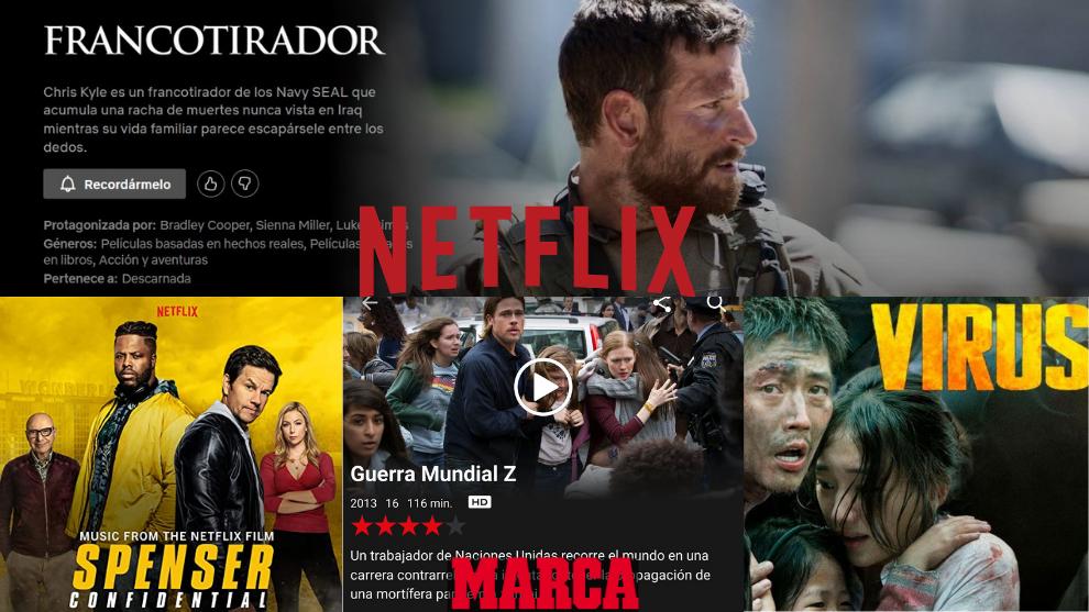 Top 10 películas de acción para ver en Netflix
