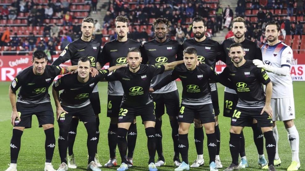 El Extremadura, durante un partido de la temporada 2019-2020. MARCA