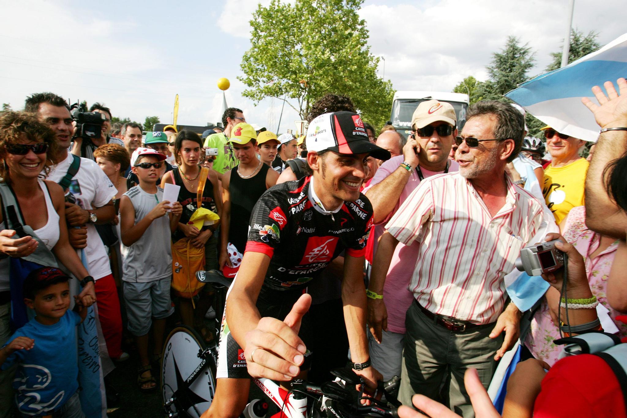 Óscar Pereiro en el Tour de Francia 2006