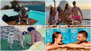 Las vacaciones son para lucir palmito, piscineo y playita