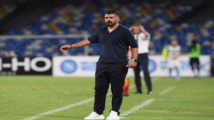 Gennaro Gattuso espera que su equipo esté a la altura.
