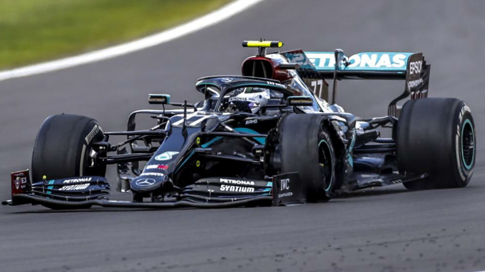 """Hamilton: """"Iba rezando para que el coche llegara a la meta"""""""
