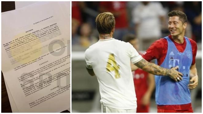 Desvelado el contrato que Lewandowski nunca firm