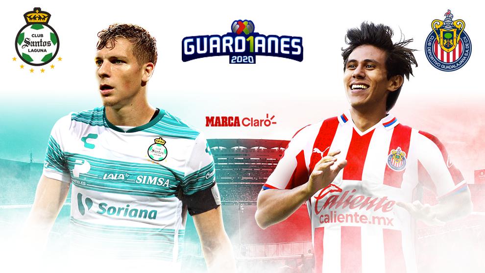 Liga MX Apertura 2020 Santos Vs Chivas Resumen