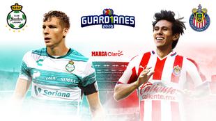 Santos vs Chivas de la Liga MX en vivo y en directo online; minuto a...
