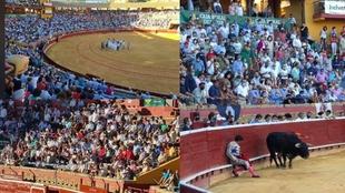 Las imágenes de la corrida de toros de Huelva que incendian las redes: ¿Y la distancia social?