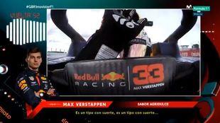 Max Verstappen, al final de la carrera.